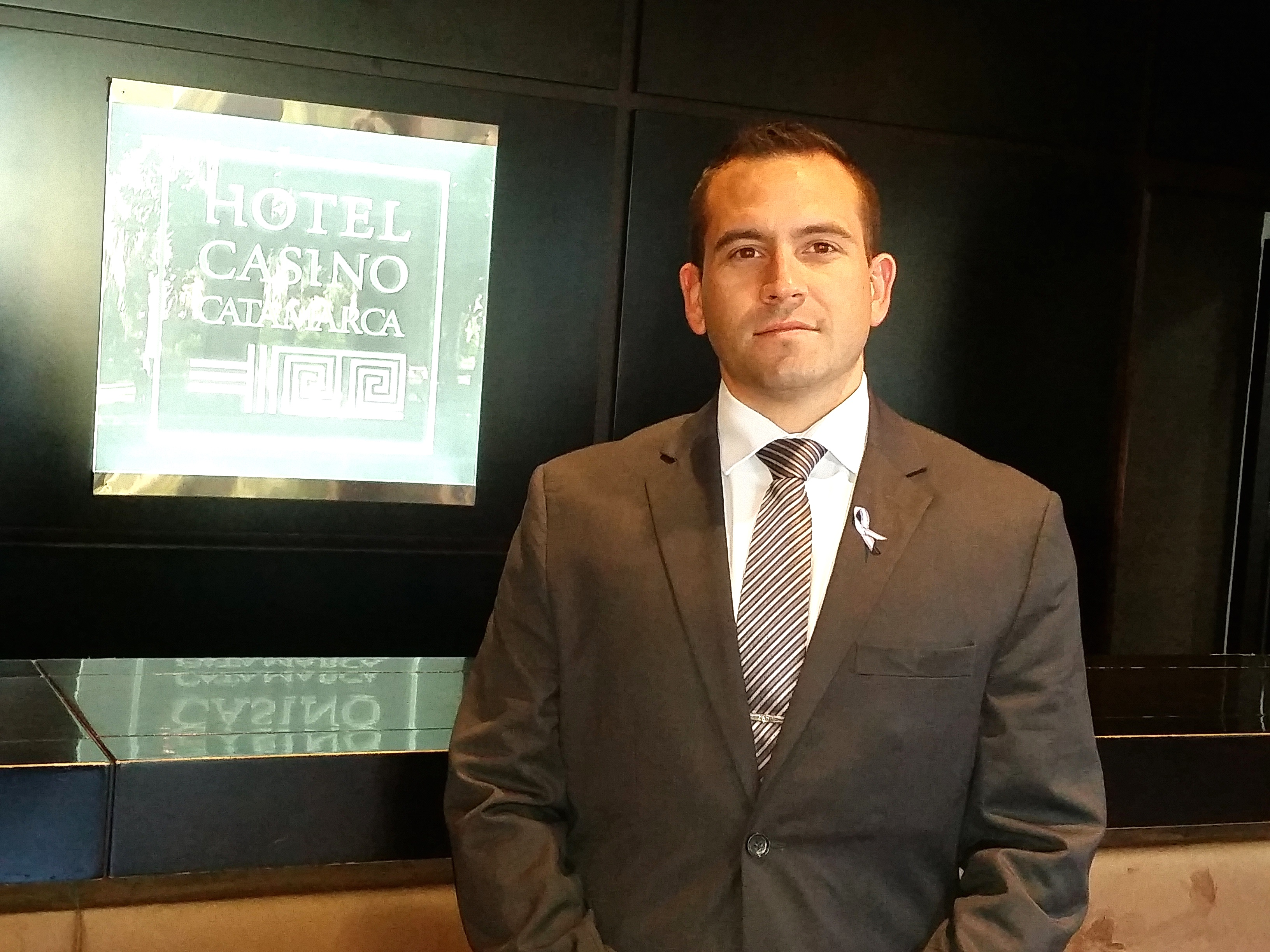 Mauricio Secco, Operations Manager, Catamarca Hotel and Casino.