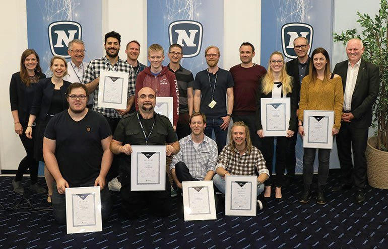 A total of 8 participants completed the Novomatic Corporate Coding Academy.