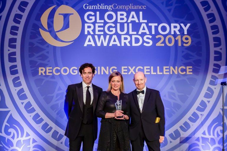Monika Racek (Admiral), CEO of the Year in the Global Regulatory Awards 2019.