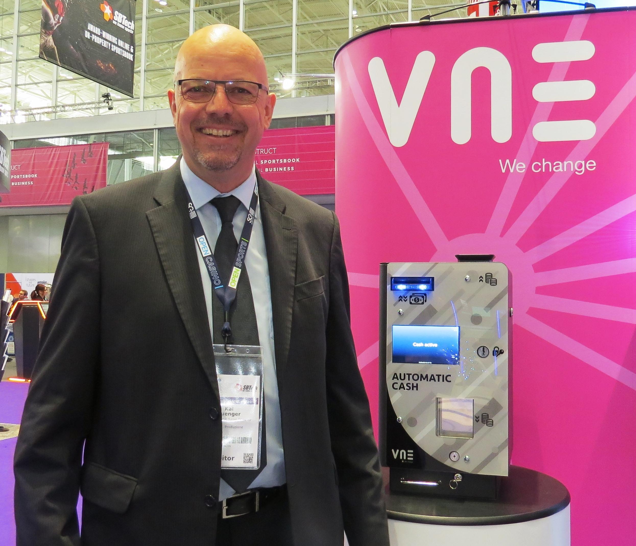 Kai Buenger, International Sales Director, VNE.