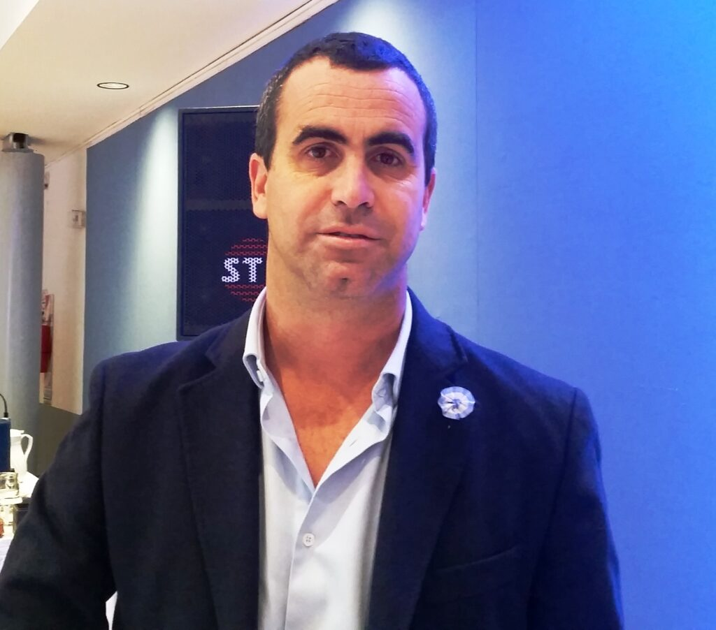 Martin Garcia Santillan, current president of the Lottery of the City of Buenos Aires.